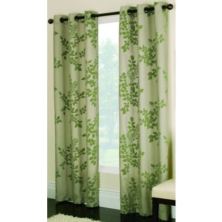 Miller Curtains Simsbury Green 84-inch Grommet Curtain Panel