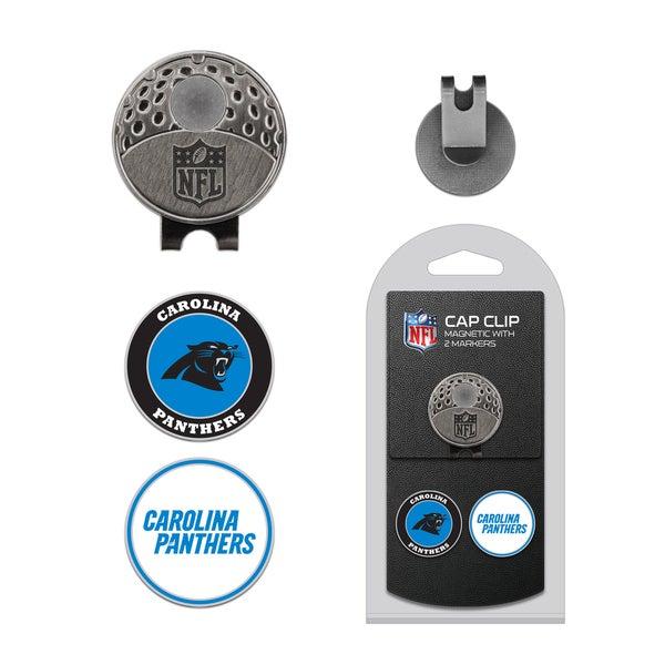 NFL Carolina Panthers Magnetic Cap Clip and Marker Set