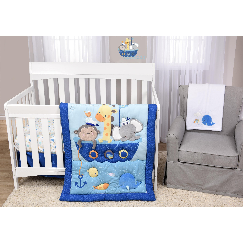 Ahoy There 5 Piece Crib Bedding Set