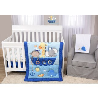 Baby's First Ahoy There! 5-piece Crib Bedding Set