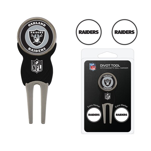 NFL Oakland Raiders Golf Divot Tool Pack