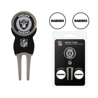 NFL Oakland Raiders Golf Divot Tool Pack