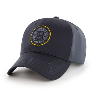 Fan Favorites Boston Bruins NHL Blackball Velcro Hat