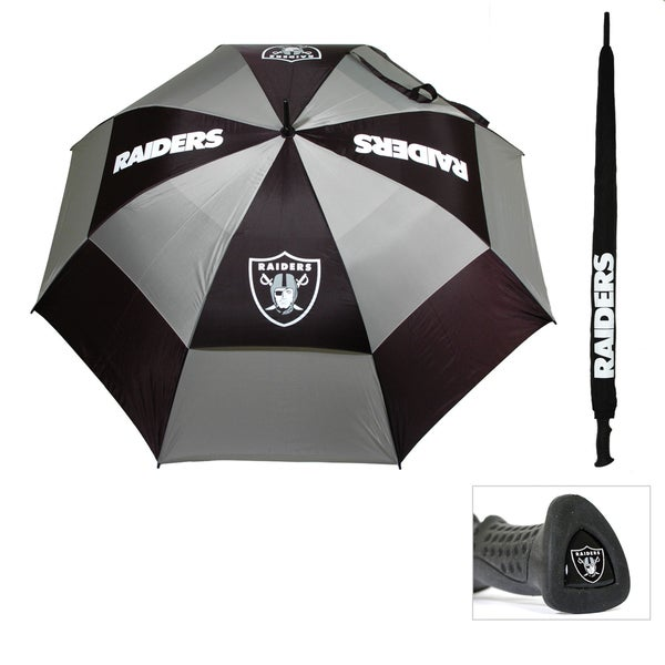 Oakland Raiders 62-inch Double Canopy Golf Umbrella