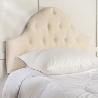 Elsa Twin Tufted Fabric Kid Headboard by Christopher Knight Home