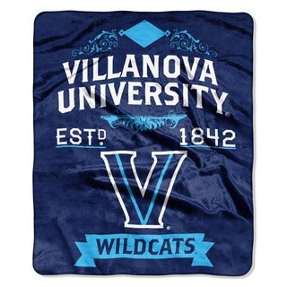 COL 670 Villanova 'Label' Raschel Throw