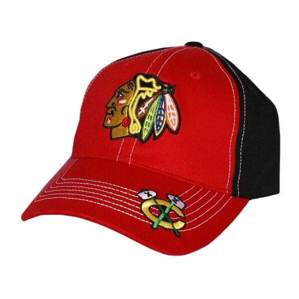 Fan Favorites Chicago Blackhawks NHL Revolver Hook and Loop Hat