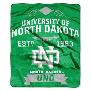 COL 670 North Dakota 'Label' Raschel Throw