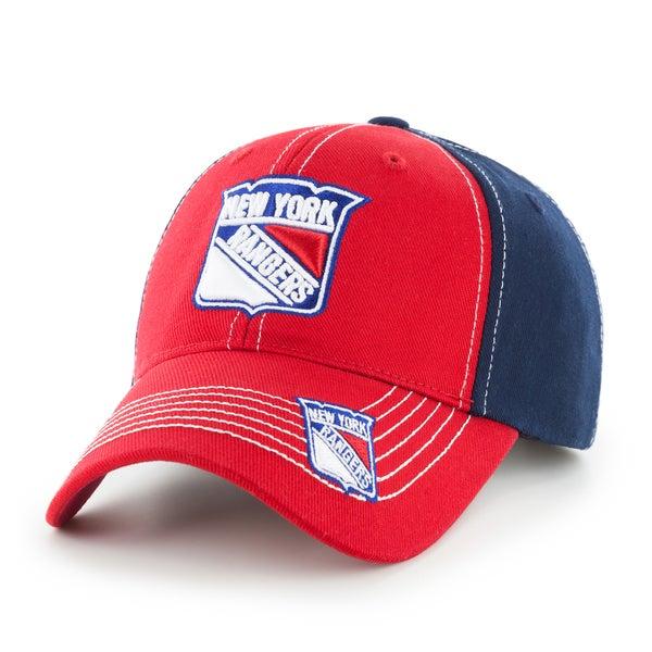Fan Favorites New York Rangers NHL Revolver Hook and Loop Hat