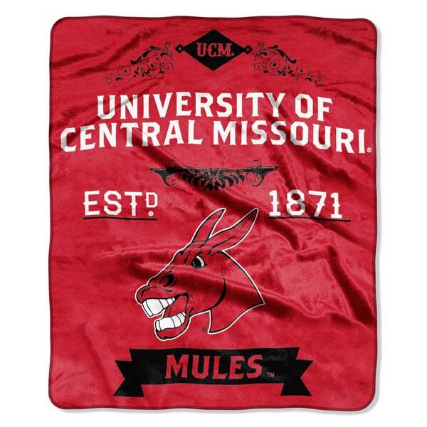 COL 670 Central Missouri 'Label' Raschel Throw