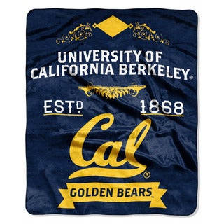 COL 670 Cal Berkeley 'Label' Raschel Throw