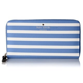 Kate Spade New York Fairmount Square Lacey Alice Blue/Sandy Beach Wallet