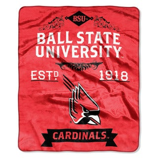 COL 670 Ball State Raschel Throw