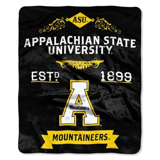 COL 670 Appalachian State 'Label' Raschel Throw