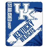 COL 031 Kentucky Painted Fleece Throw