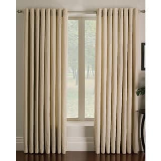Miller Curtains Ascher Ivory 84-inch Grommet Curtain Panel