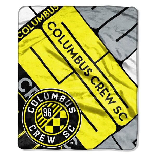 MLS 670 Columbus Crew Scramble Raschel Throw