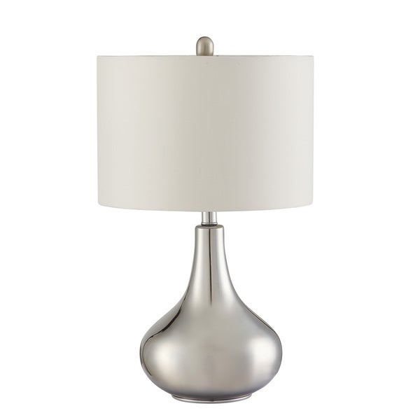 Coaster Company Chrome Metal Table Lamp