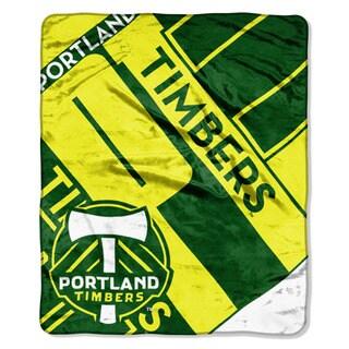 MLS 070 Timbers Scramble Raschel Throw
