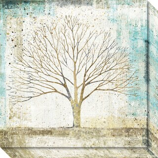 Canvas Art Gallery Wrap 'Solitary Tree Collage' by Avery Tillmon 20 x 20-inch