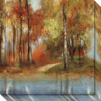 Canvas Art Gallery Wrap 'Indian Summer II' by Allison Pearce 20 x 20-inch