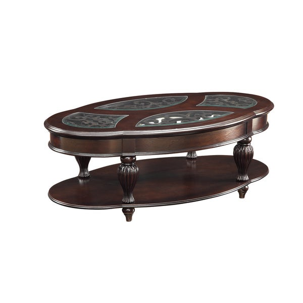 Coaster Company Cherry Wood Coffee Table Free Shipping Today