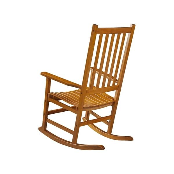 Excellent Shop Coaster Company Oak Wood Rocking Chair 32 25 X 19 25 Camellatalisay Diy Chair Ideas Camellatalisaycom