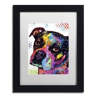 Dean Russo 'Young Boxer' Matted Framed Art