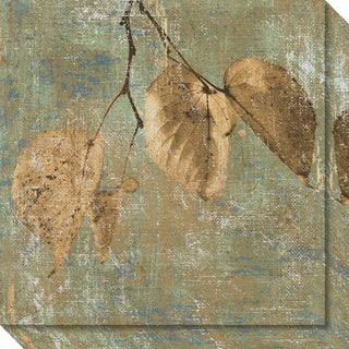 Canvas Art Gallery Wrap 'Country Escape II: Leaves' by Pela + Silverman 20 x 20-inch