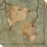 Canvas Art Gallery Wrap 'Country Escape I: Leaves' by Pela + Silverman 20 x 20-inch