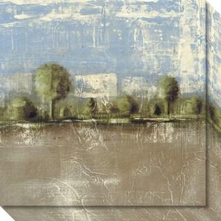 Canvas Art Gallery Wrap 'Toscano Plain Landscape' by Luis Parra 20 x 20-inch