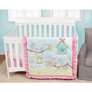 Baby's First Garden Song 4-piece Crib Bedding Set