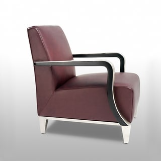 Bellini Modern Living Marbella Brown Arm Chair