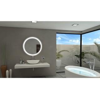 IB Mirror Backlit Round Bathroom Mirror