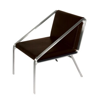 Bellini Modern Living Owen Brown Accent Chair