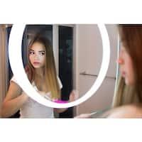IB MIRROR Lighted Bathroom Mirror HALO