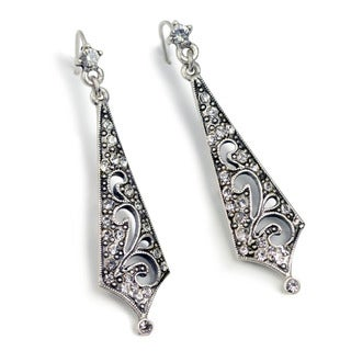Sweet Romance Art Deco Vintage Taper Earrings