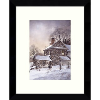Framed Art Print 'Daybreak' by Ray Hendershot 9 x 11-inch