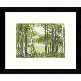 Framed Art Print 'Summer Lake V' by Elissa Gore 11 x 9-inch