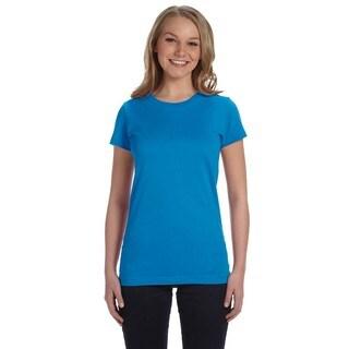 Juniors' Cobalt Fine Jersey T-shirt