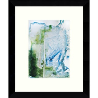Framed Art Print 'The Crazy Calm' by Veronica Bruce 9 x 11-inch