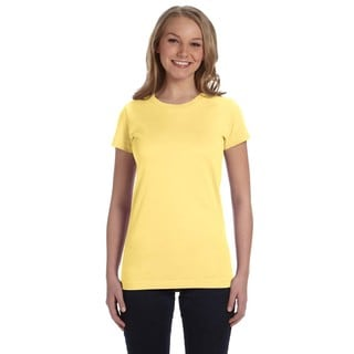 Juniors' Butter Cotton Fine Jersey T-shirt