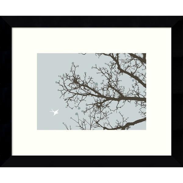 Framed Art Print \'Whimsy Tree\' by Erin Clark 11 x 9-inch - Free ...