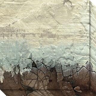 Canvas Art Gallery Wrap 'Desert Glacier' by Grant Louwagie 20 x 20-inch