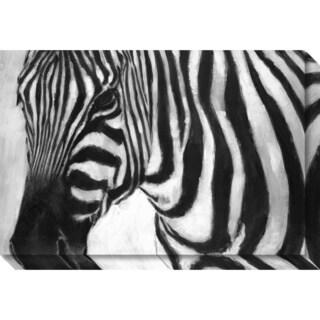 Canvas Art Gallery Wrap 'Zebra' by Art Marketing 30 x 20-inch