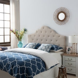 Link to Marlen Adjustable Full/ Queen Tufted Fabric Headboard by Christopher Knight Home Similar Items in Bedroom Furniture