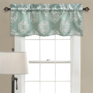 Lush Decor Sophie Room Darkening Valance Set