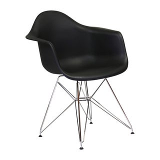 Mid Century Modern Eames Style Molded Plastic