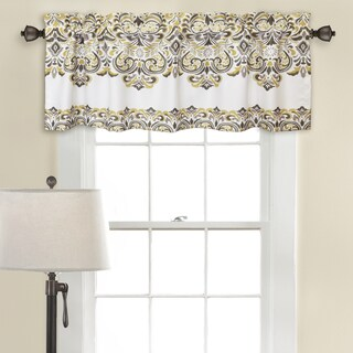 Lush Decor Clara Room Darkening Valance Set