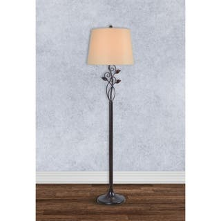 Rustic Floor Lamps For Less Overstock Com